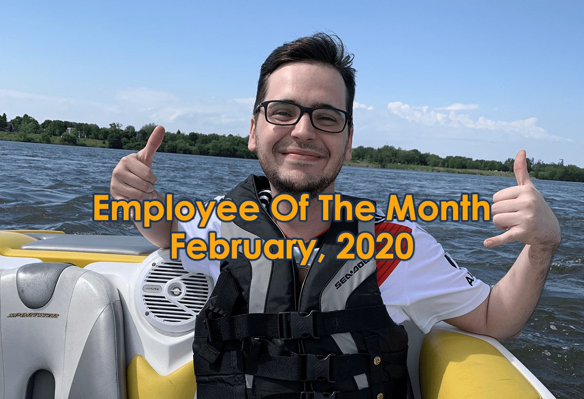 Steeve Martin Is MeloTel's Employee Of The Month For February!